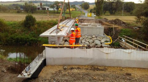 Rekonstrukce mostu ev. číslo 22521-1 Sedčice