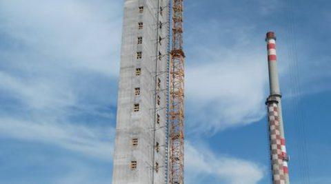 MONDI Štětí – Schodišťová věž – prefa prvky