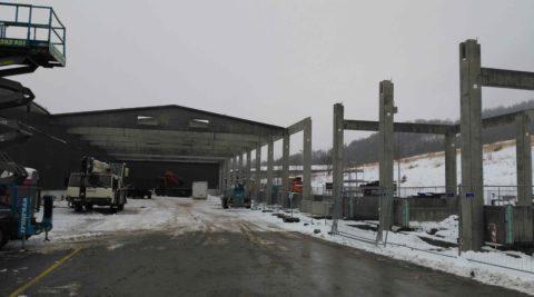 Rozšíření výrobního závodu REHAU Moravská Třebová