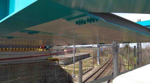 Modernizace mostů přes tratě SŽDC vPřerově, ul. Dluhonská