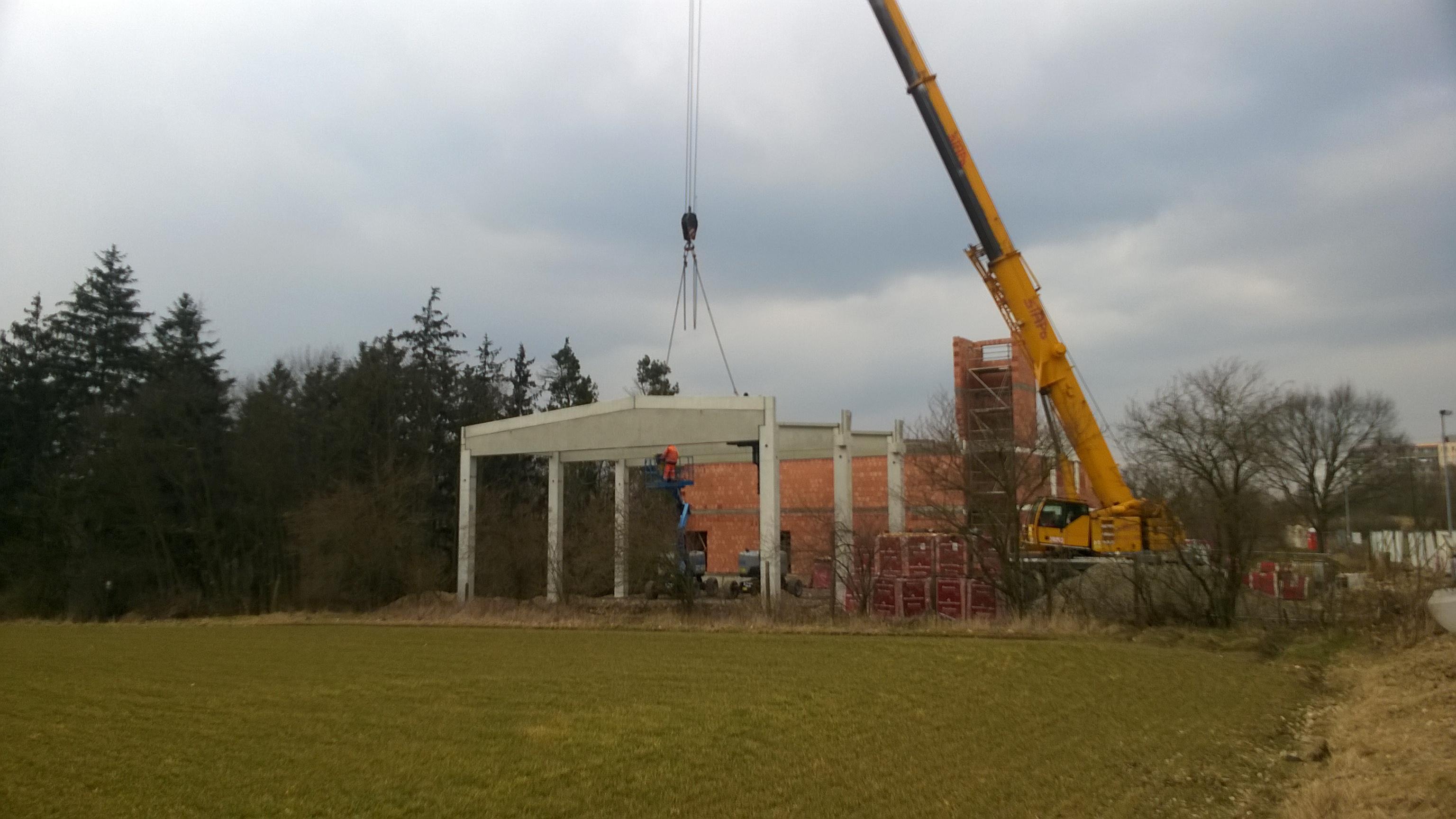 Výstavba nové hasičské zbrojnice pro SDH Praha – Písnice