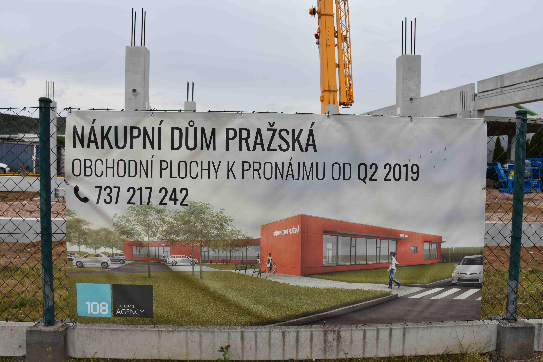 Komerční hala vLetech uDobřichovic