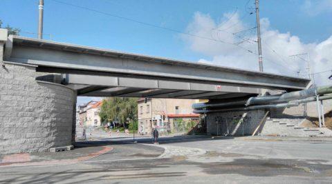 Lávka pro pěší acyklisty vTáboře-Černých Mostech