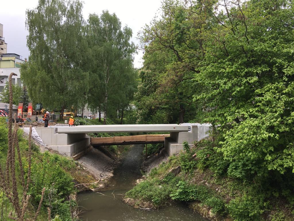 Cementárna Radotín, oprava mostu IV uvrátnice III