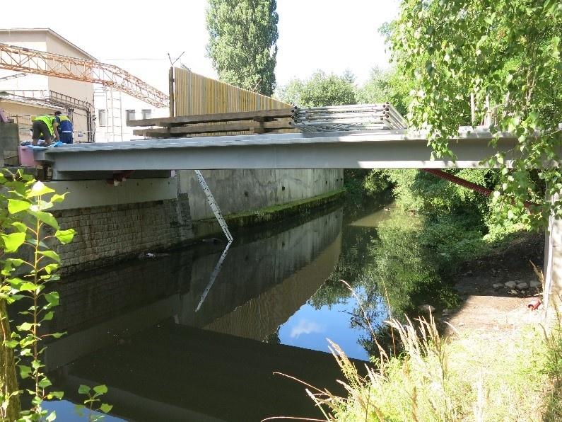 Rekonstrukce mostu AKUMA Škoda Auto vMladé Boleslavi